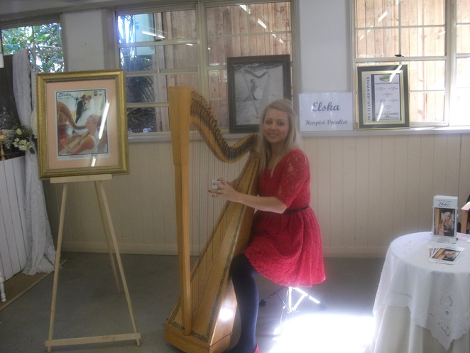 sweets, vintage, wedding, special events, harp