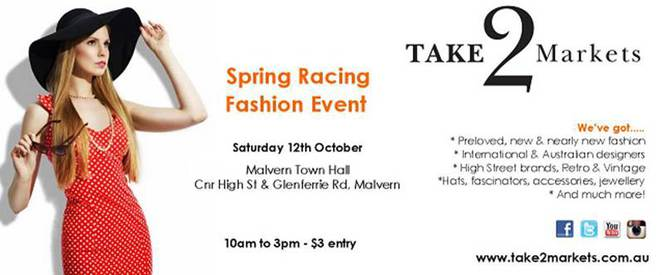 Take 2 Markets Spring Racing Event