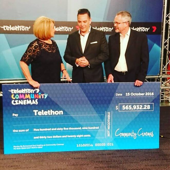 Telethon Community Cinemas, Murdoch University, November to February, Outdoor cinema Perth, children's charities Perth, community events