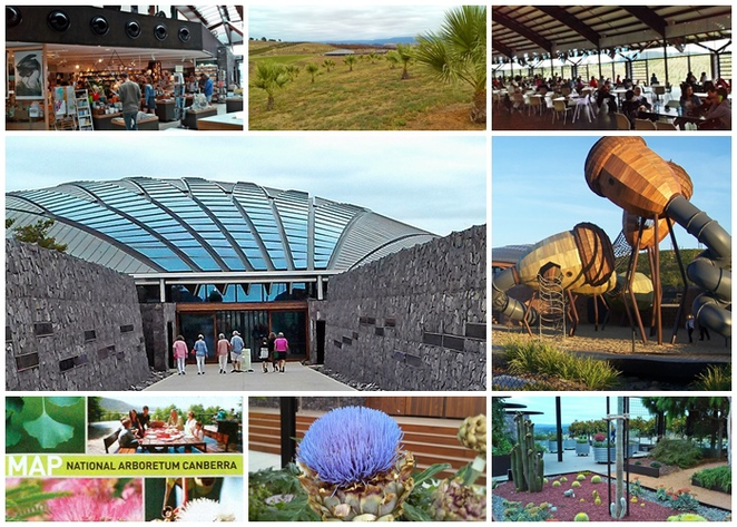 the national arboretum, canberra, national bonsai and penjing collection, pod playground, ACT, tourist attraction,