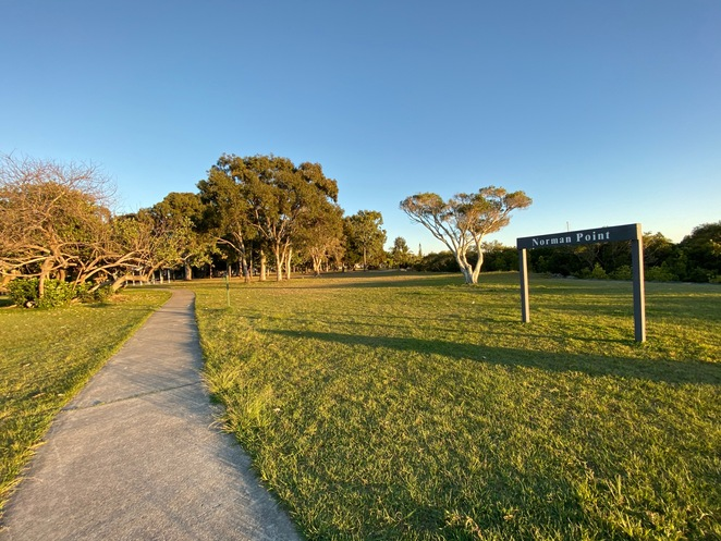 The Foreshore Bird Walk is flat, paved, and a pleasure to explore