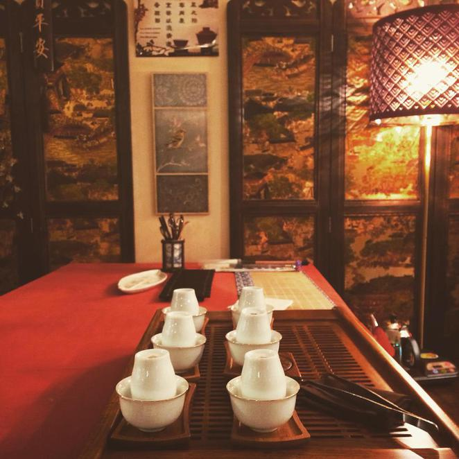 topo tea, calligraphy, chinese, traditional, gong fu cha