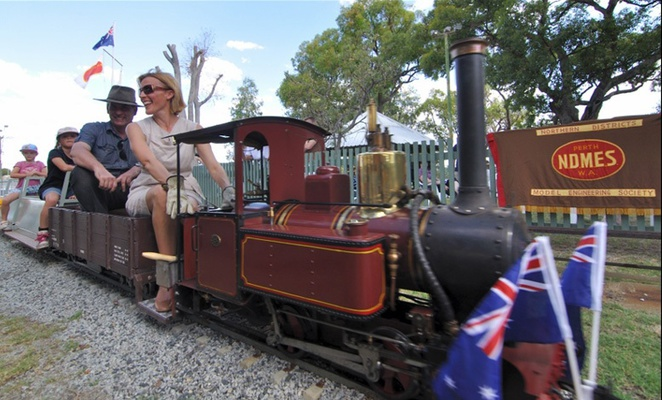 Train activities for kids in perth