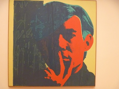 Warhol, self portrait 1967