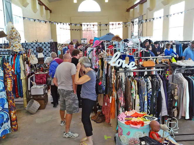 360 fashion markets, three sixty fashion markets, weekend markets, canberra, old bus depot markets, ACT,