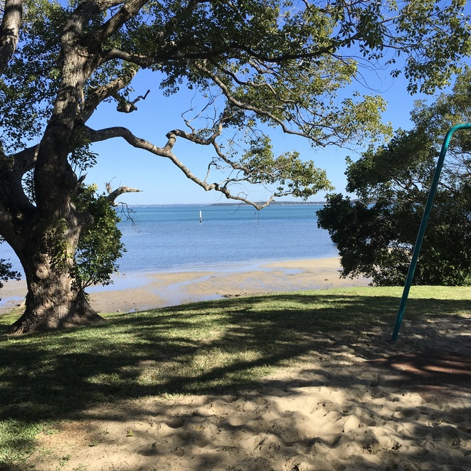 View from Stradbroke Is back to the mainland