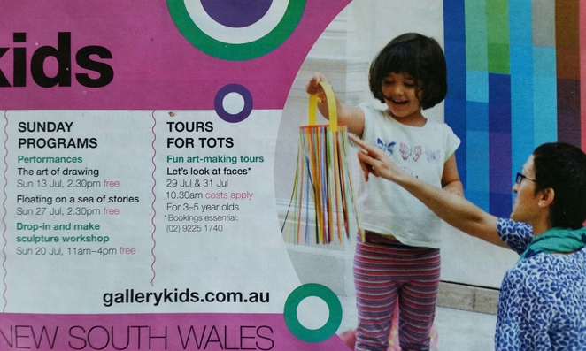 art gallery of new south wales, gallery kids, free
