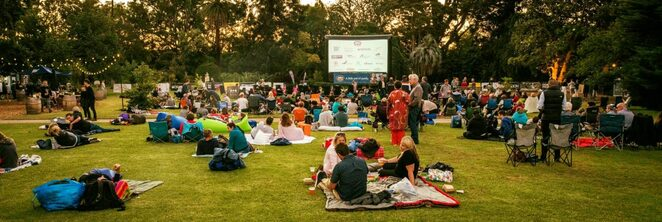 Barefoot Cinema at Rippon Lea Estate