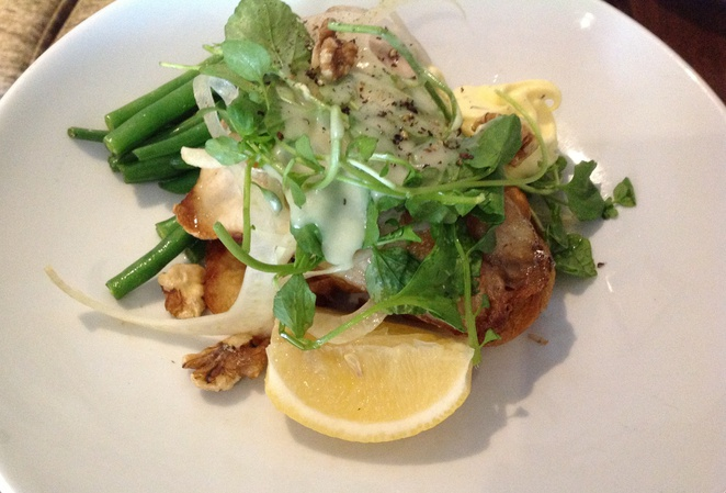 Barramundi & Fennel Salad