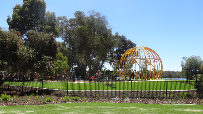 Bibra Lake Regional Playground.