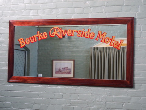 Bourke Riverside Motel, historic,