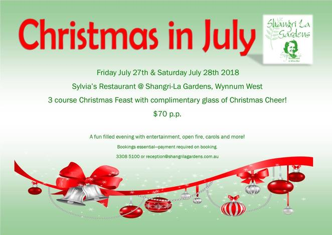 'Christmas in July';