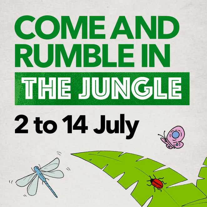 Come and Rumble In The Jungle, Cockburn Gateways, Perth Zoo Junior Wild Vet Hospital, school holidays July Perth, school holiday activities Perth, animal activities Perth
