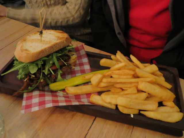 Coopers Alehouse Gepps Cross, Beef Rib Sandwich, Adelaide