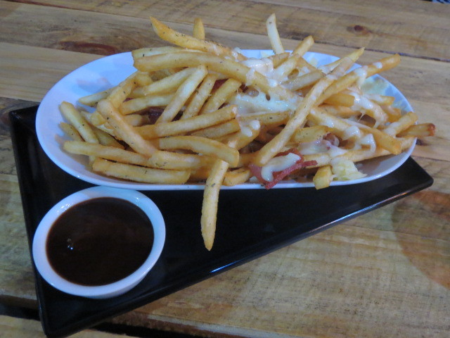 Crave Gourmet Pizza & Burger Bar, Bacon & Cheese Loaded Fries, Adelaide