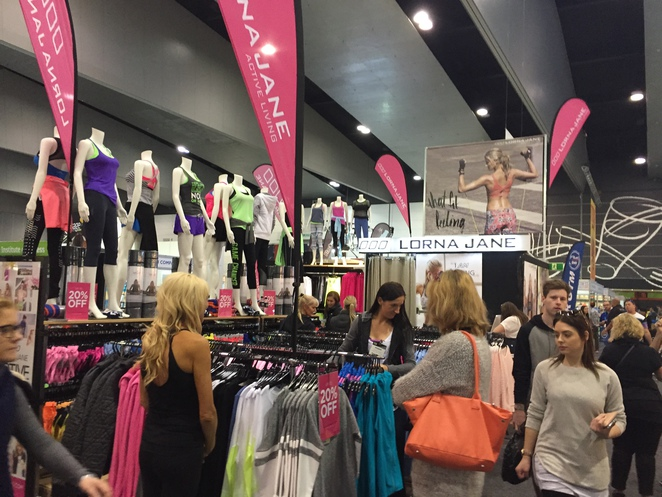 Fitness and health expo Melbourne, Fitness and health expo 2015, Lorna Jane