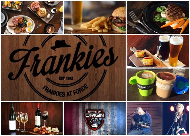 frankies, frankies at forde, forde, canberra, cafes, pubs, ACT, breakfast, lunch, dinner, canberra,