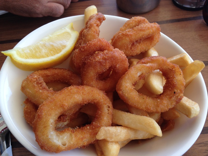 gold coast fish and chips, surfers paradise cafe