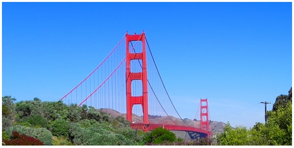 golden gate bridge, best places to visit in san francisco
