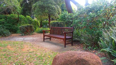 A tranquil spot to relax, Harold Boas Gardens, Perth
