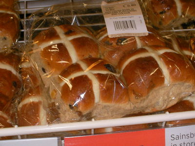 hot cross buns, easter