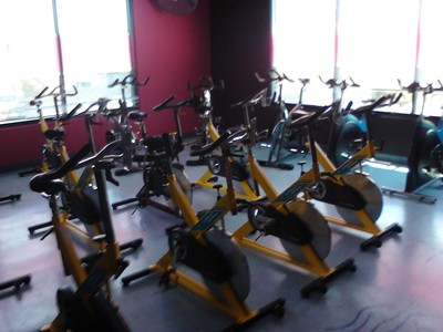 Cycle studio room