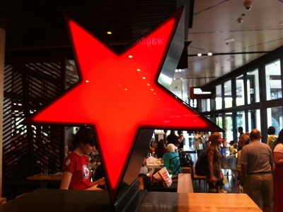 Wagamama red star logo
