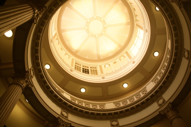 The interior - Adelaide Parliament House - Photo Jenny Esots