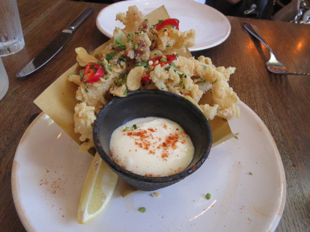 Jamie's Italian Super Lunch, Crispy Squid, Adelaide