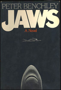 jaws, novel, cover