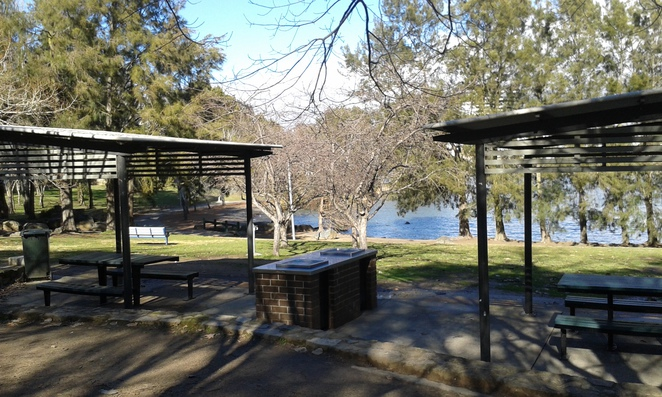 John Knight Memorial park, BBQ areas, picnic areas, Belconnen, Canberra