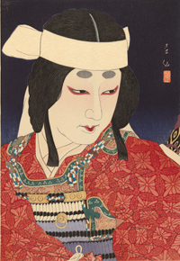 kabuki, stars of the tokyo stage, exhibition, nga, national gallery of australia, canberra, japan, theatre