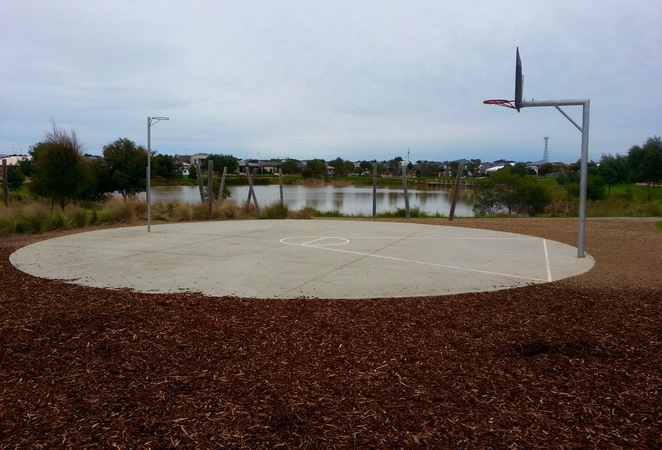 Kingston Ocean Grove Playground, Kingston Park, Basketball Hoops