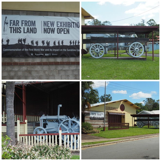 Landsborough Museum, Sunshine Coast, history
