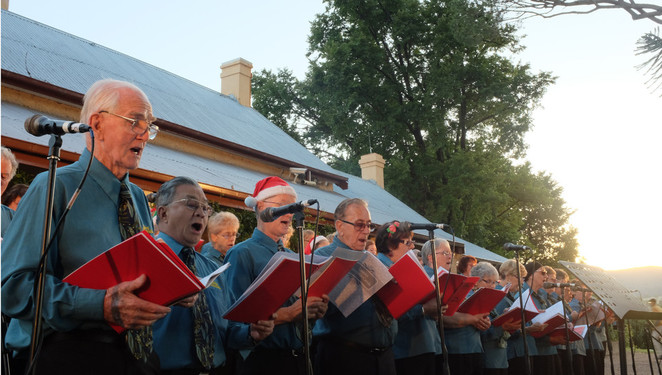 lanyon homestead, christmas carols, 2016, december, christmas, tuggeranong, lanyon,