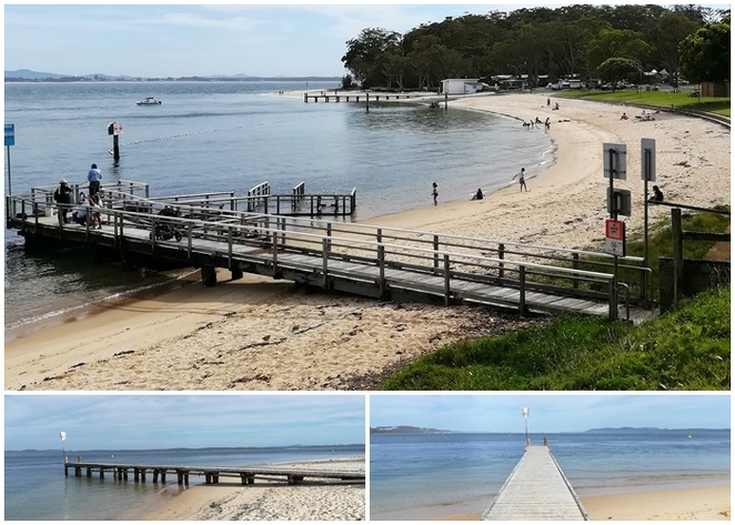 little beach, nelson bay, bays, swimming, fishing, halifax holiday park, things to do, swimming areas, boat ramp, inner light tearooms, cafe, restaurant, whats on,