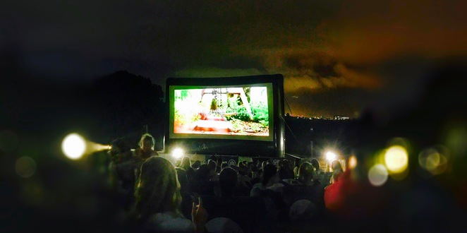 moonlight cinema, paddington, centennial parklands, sydney, movies, outdoors