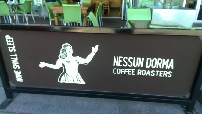 nessun dorma, cafe, coffee roaster, meals