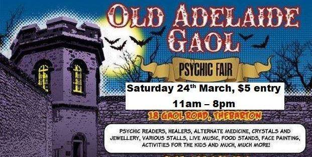 old Adelaide gaol psychic fair, north kapunda, old adelaide gaol, ghost crime tours, elizabeth woolcock, ghosts, paranormal, psychic, fair, ww2 explosives factory, Cornucopia Hotel, North Kapunda Hotel, Wallaroo Township, Gladstone Gaol, WW2 Explosives Factory, Old Highercombe Hotel, Old Adelaide Gaol, Port Wakefield Township, Mystery Location lockin