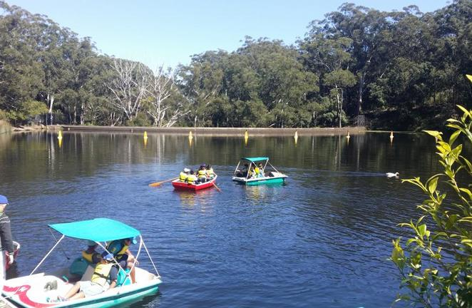 Paddle About, Parramatta Rowboats, Lake Parramatta Reserve, school holidays activities