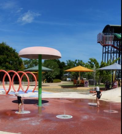 Palmerston, Palmerston Water Park, darwin, free, water play, family activity