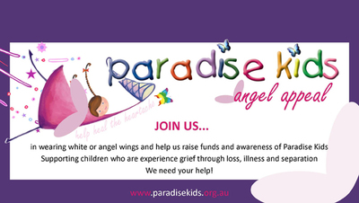 paradise kids angel walk