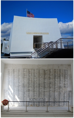 pearl harbour, hawaii, USS Arizona Memorial, Pacific National Monument, tourist attraction