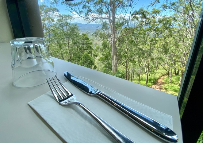 Stunning views from Picnic Point's cafe and restaurant