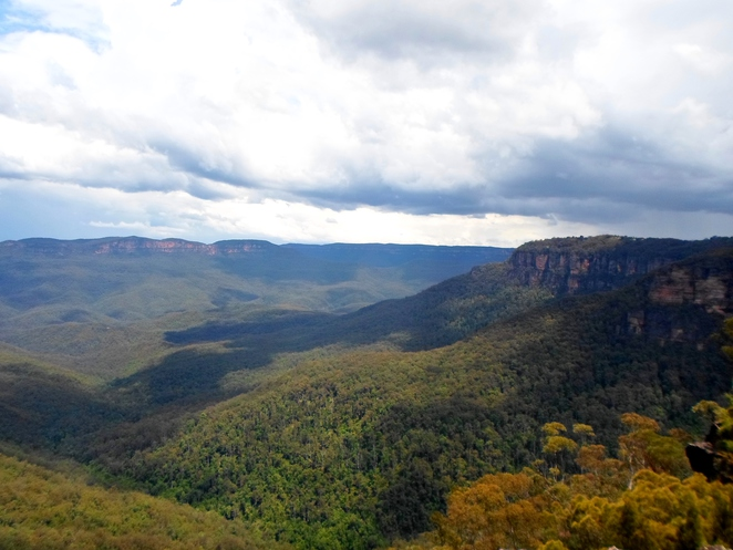 princes rock lookout, wentworth falls lookouts, blue mountains lookouts, jamison valley