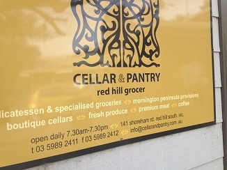 Cellar and Pantry Red Hill Grocer, Mornington Peninsula Attractions, Mornington Peninsula Produce, red hill