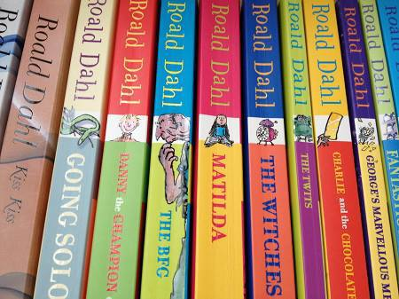 roald dahl revolting rhymes disgusting beasts books