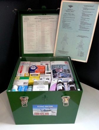 Royal Flying Doctor Service, Kalgoorlie, standardised medical chest
