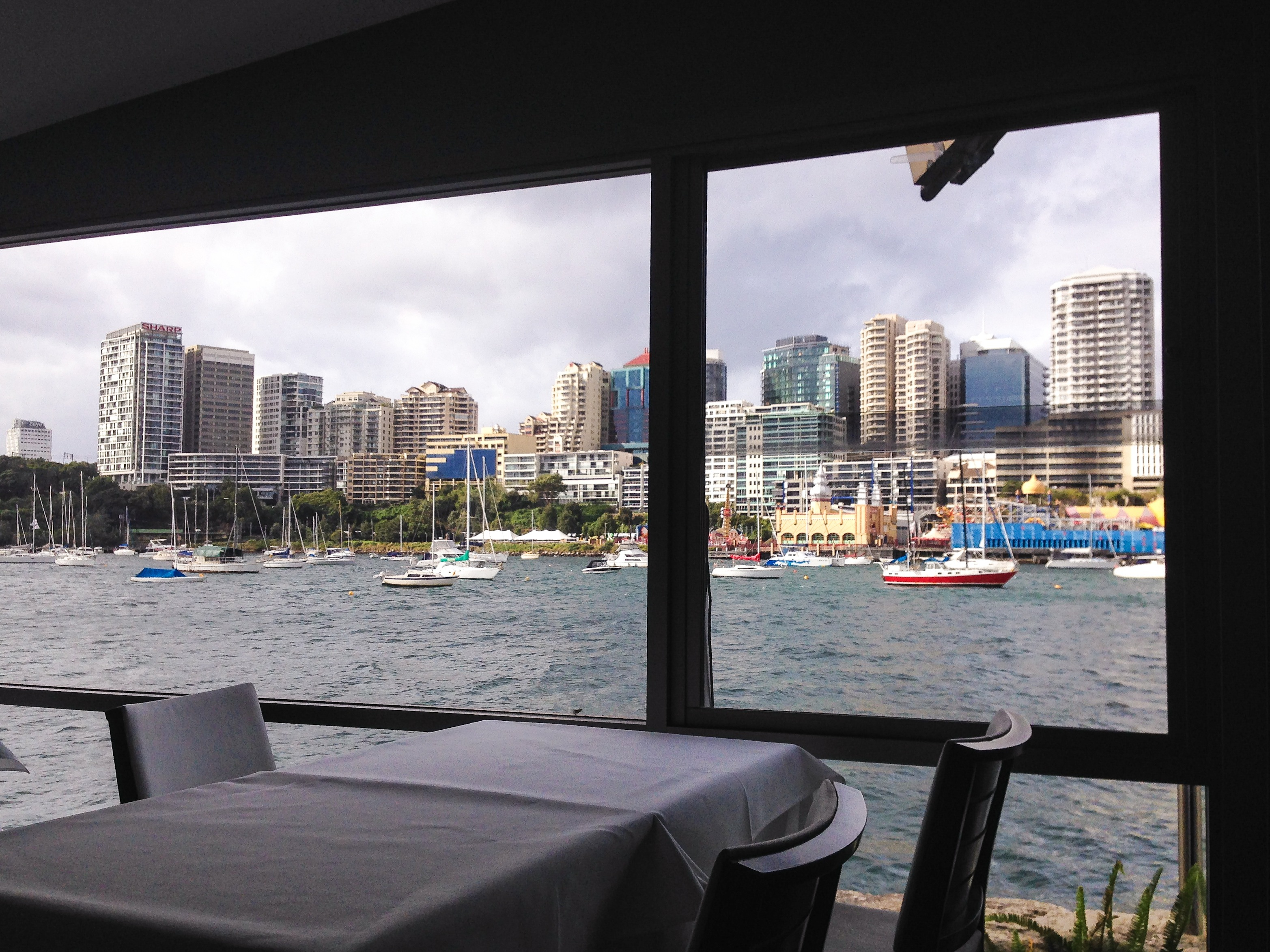 water view restaurants sydney harbour - photo#29