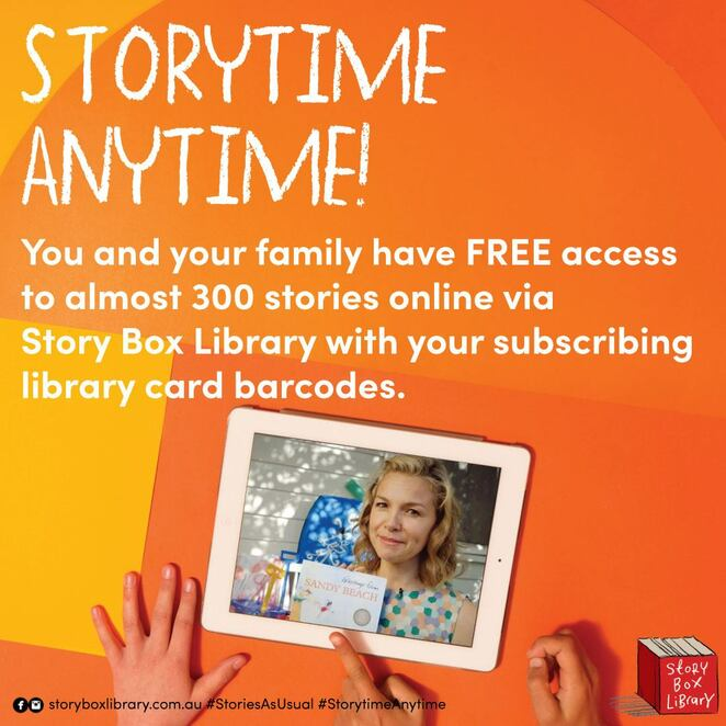 storytime at home 2020, stonnington libraries, city of stonnington, fun for kids, story telling free event, kids art hub at home, education, fairy tales, elibrary, free movies, free stories, free books online, virtual world, covid-19
